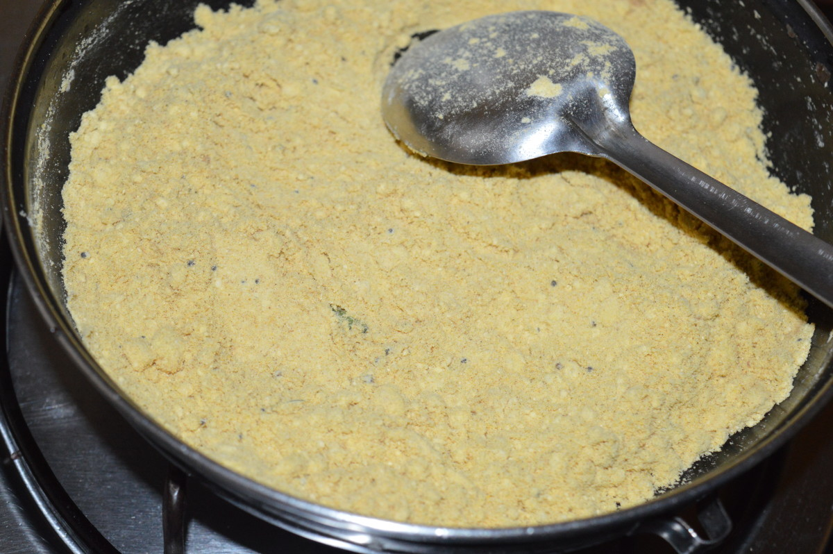 sauteed cornmeal