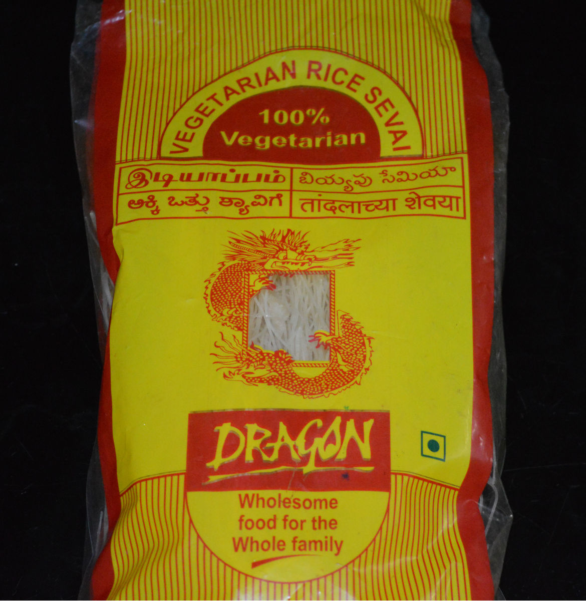I used Dragon brand rice sevai.
