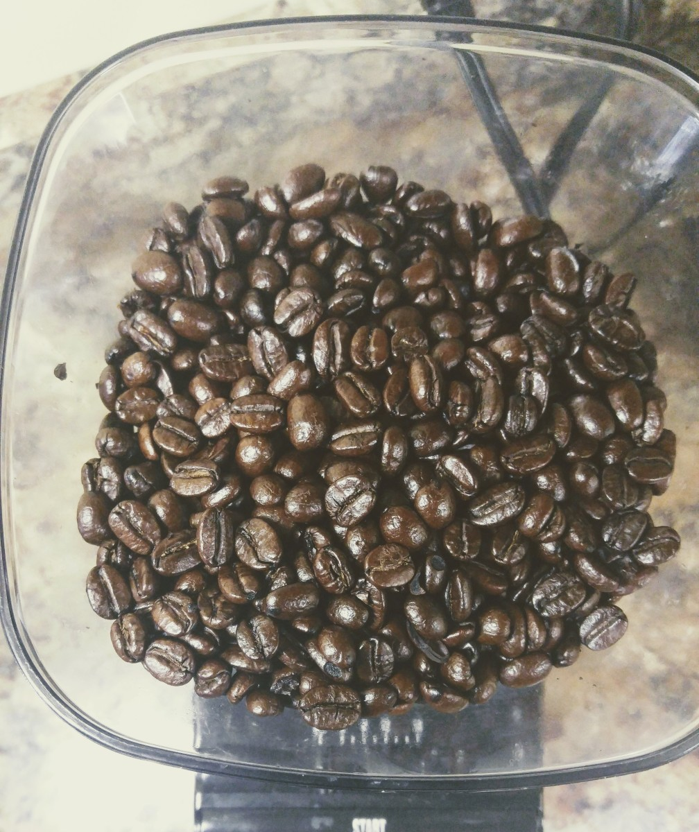 A rich coffee bean with a high oil content makes for a wonderfully smooth cup of French press coffee.