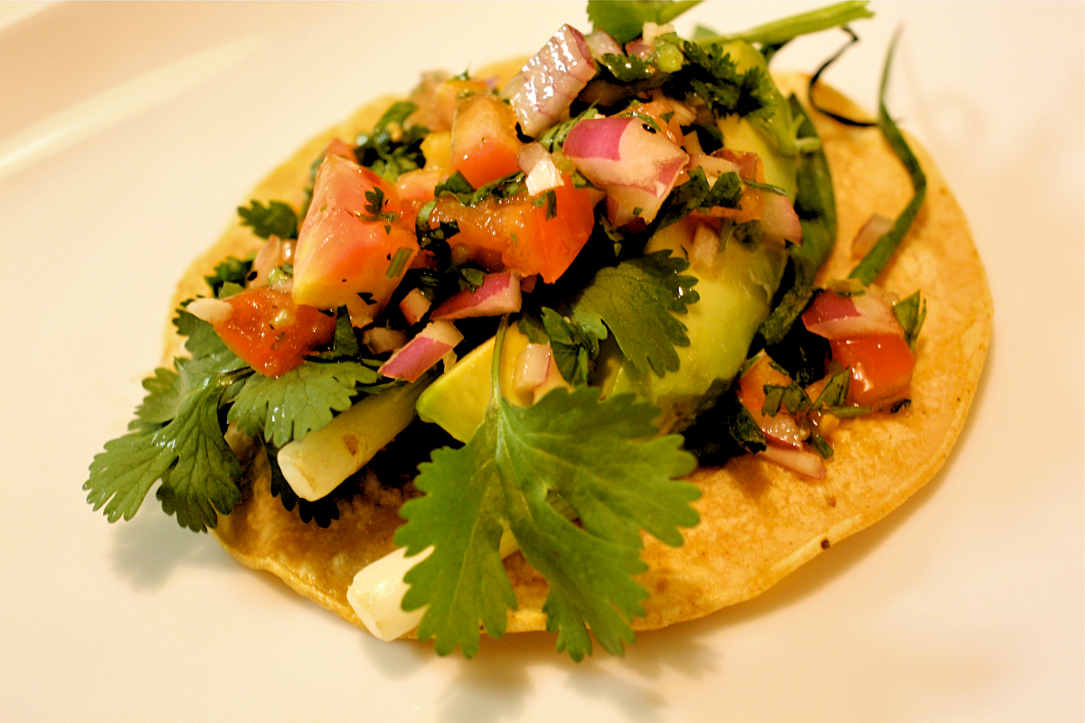 Mexican cuisine also incorporates copious amounts of fresh cilantro.