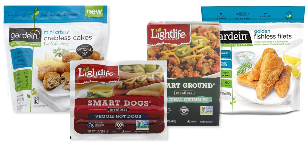 Gardein and Lightlife are two good faux meat brands.