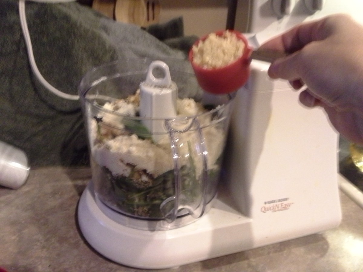 Step Eight: Add in your walnuts