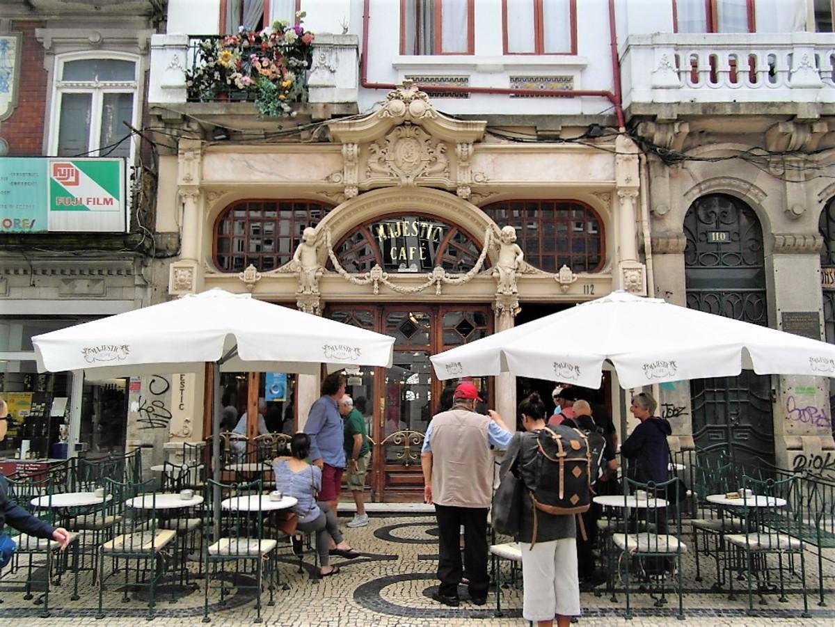 Café Majestic, Porto.
