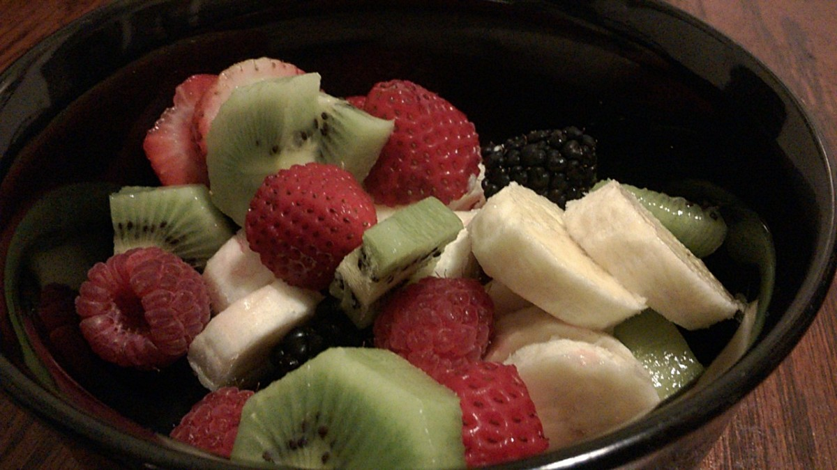 A Simple Fruit Bowl Salad Recipe