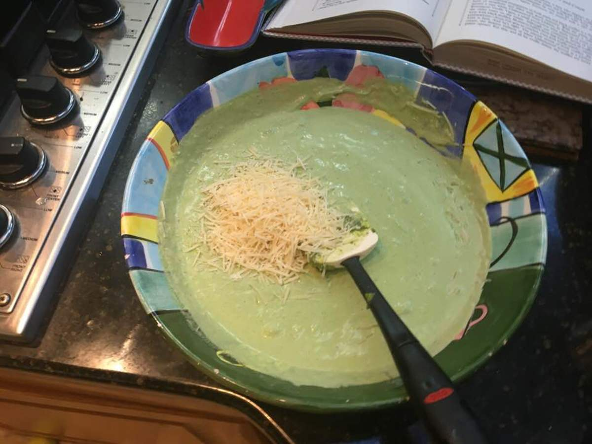 how to make basil pesto cream sauce