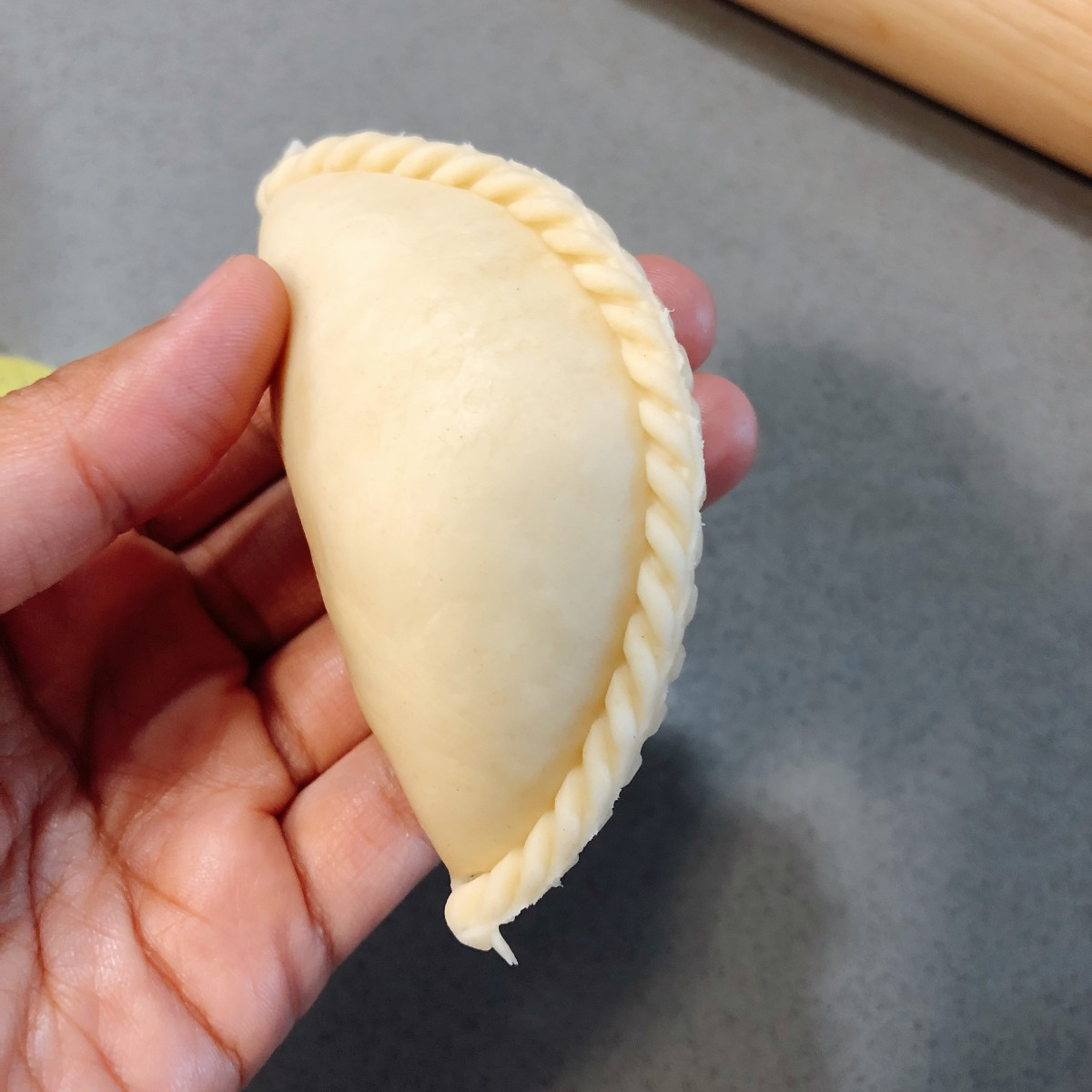 Curry puff wrap.
