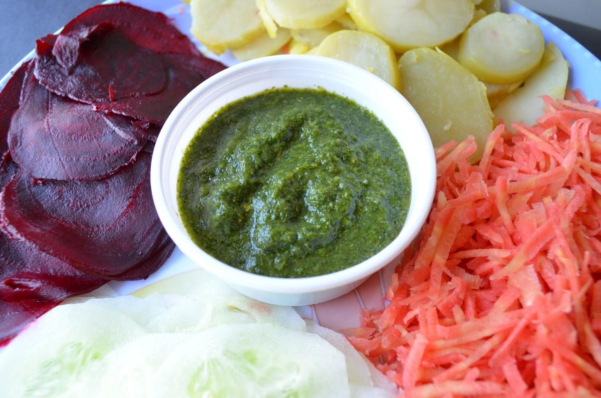 Green Chutney (India)