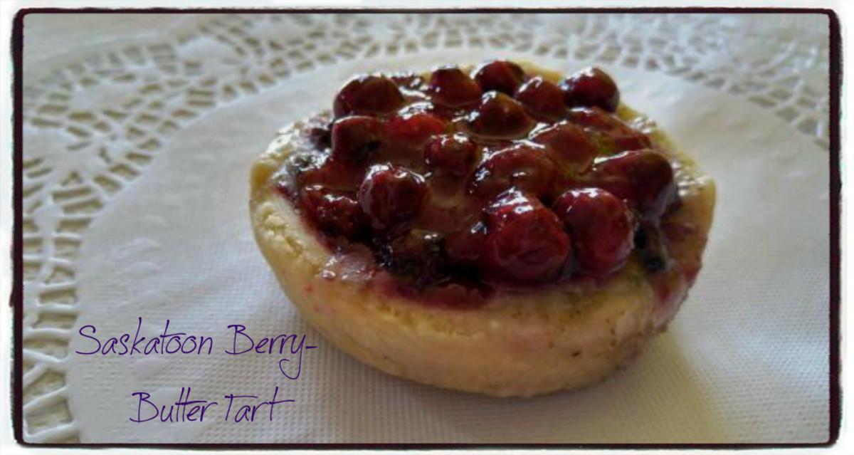 Saskatoon Berry Butter Tart