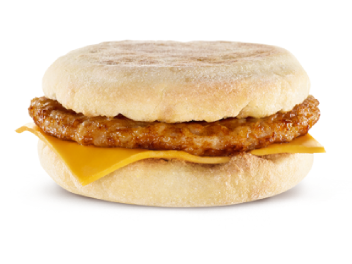 The Sausage McMuffin is on McDonald's value menu