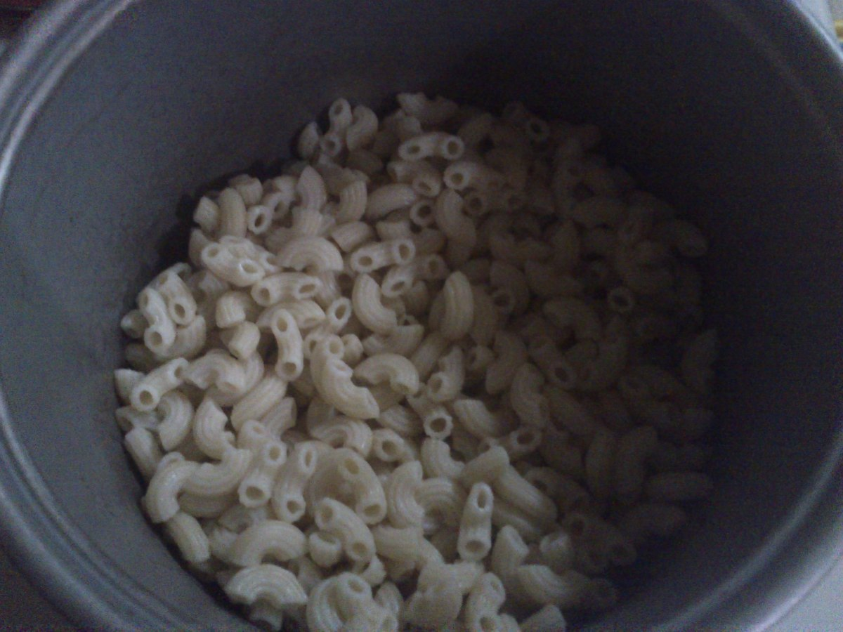 Cooked Elbow Macaroni