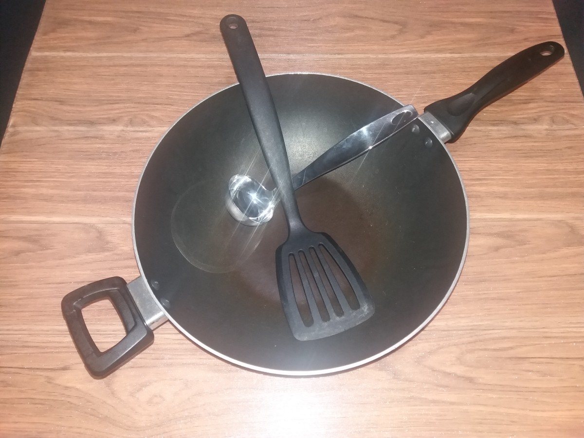 Utensils for Cooking the Pancake