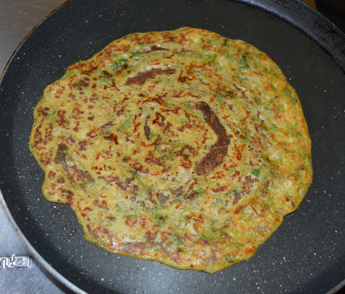 wheat-flour-and-potato-spicy-pancake-recipe