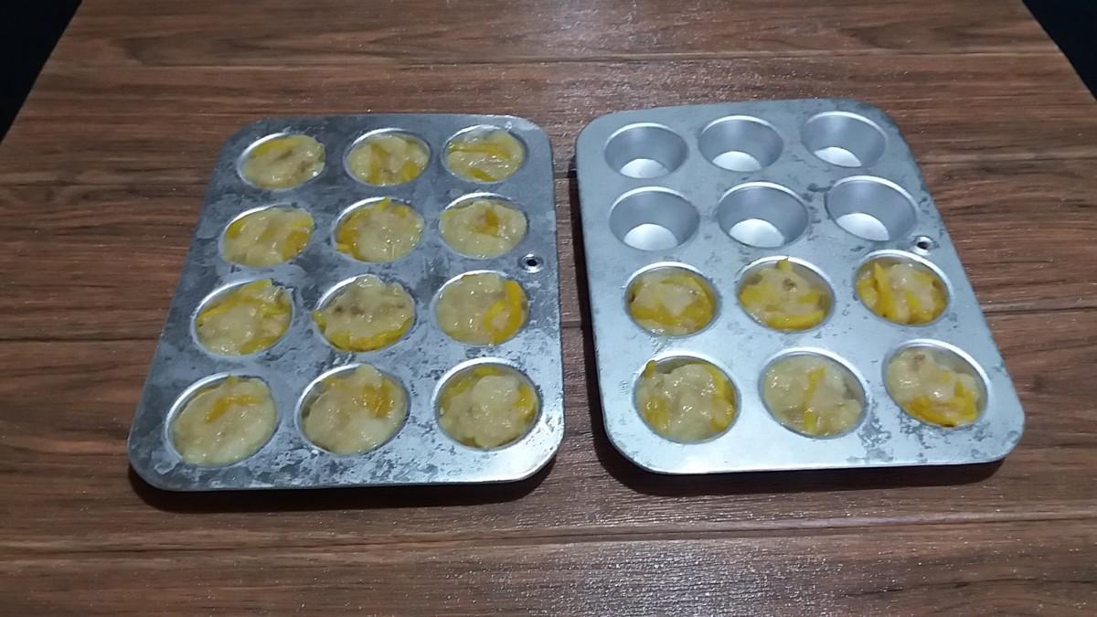 Frozen Tropical Fruit Fritters Mixture