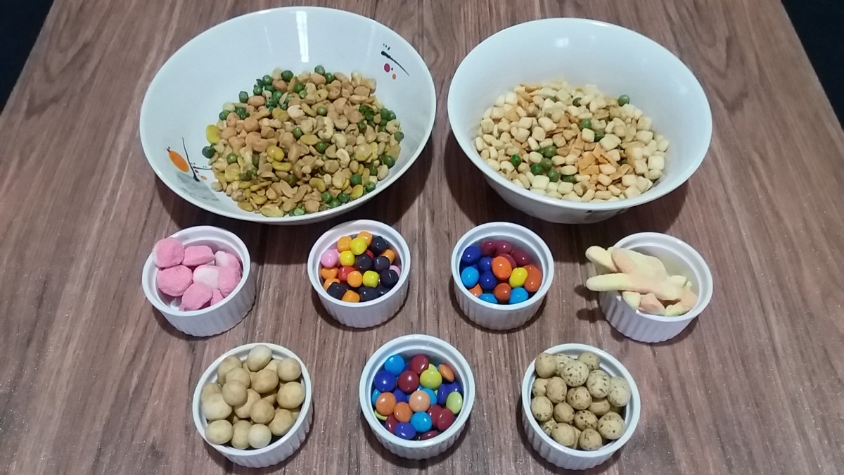 Ingredients for Tasty Homemade Trail Mix