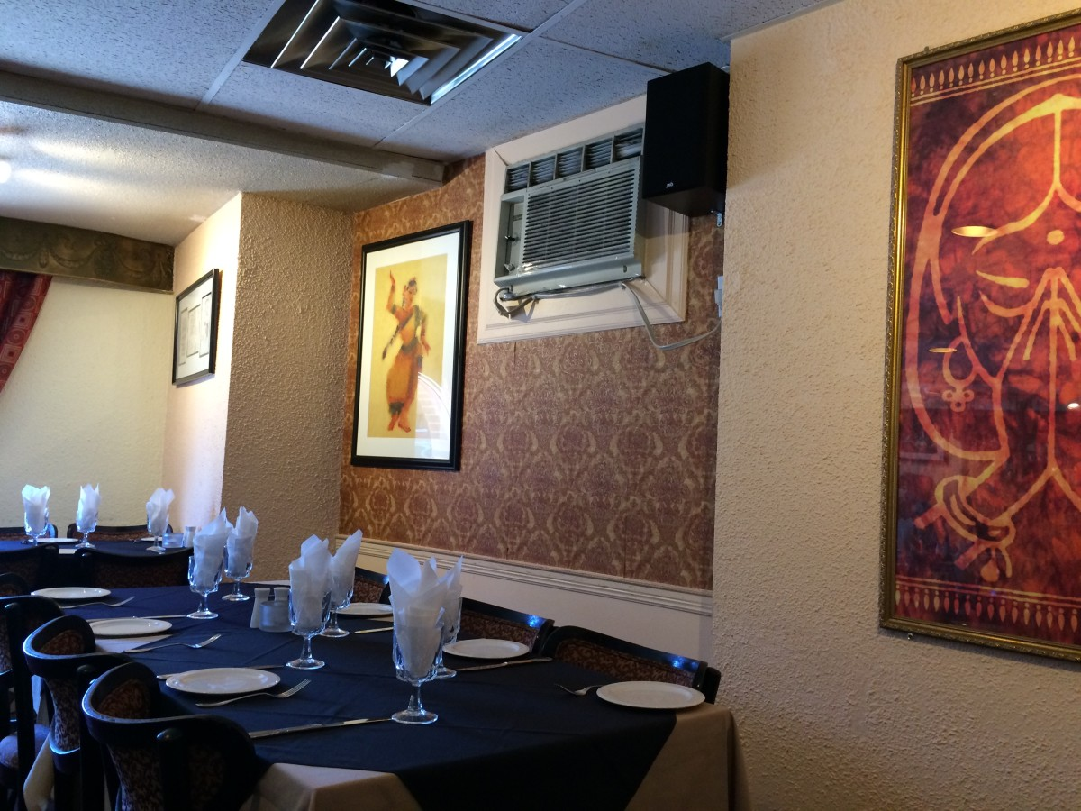 Darbar has a warm, clean and inviting atmosphere.