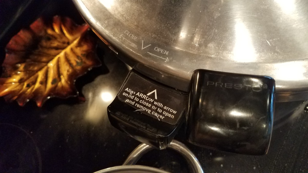 There are directions to help you on the side of the canner.
