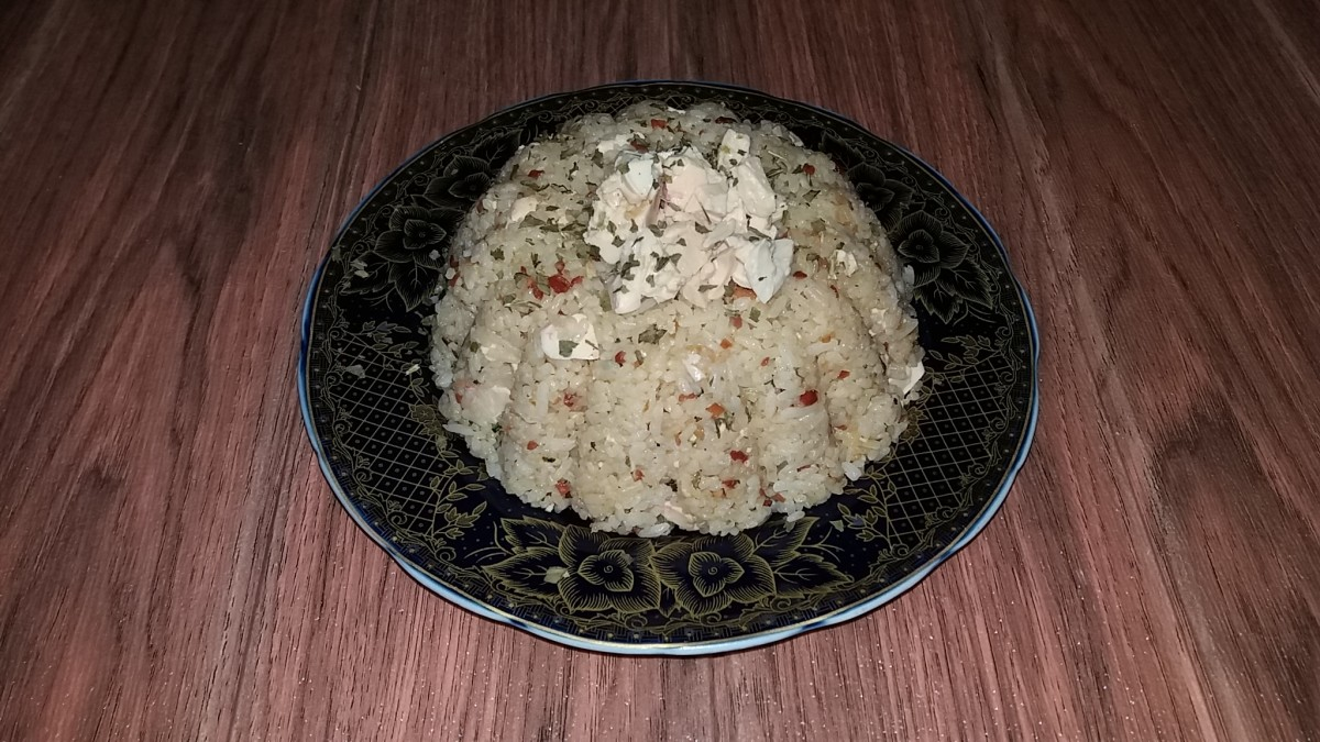 Salted Duck Egg Fried Rice