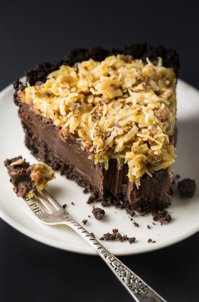 German Chocolate Cheesecake Recipe