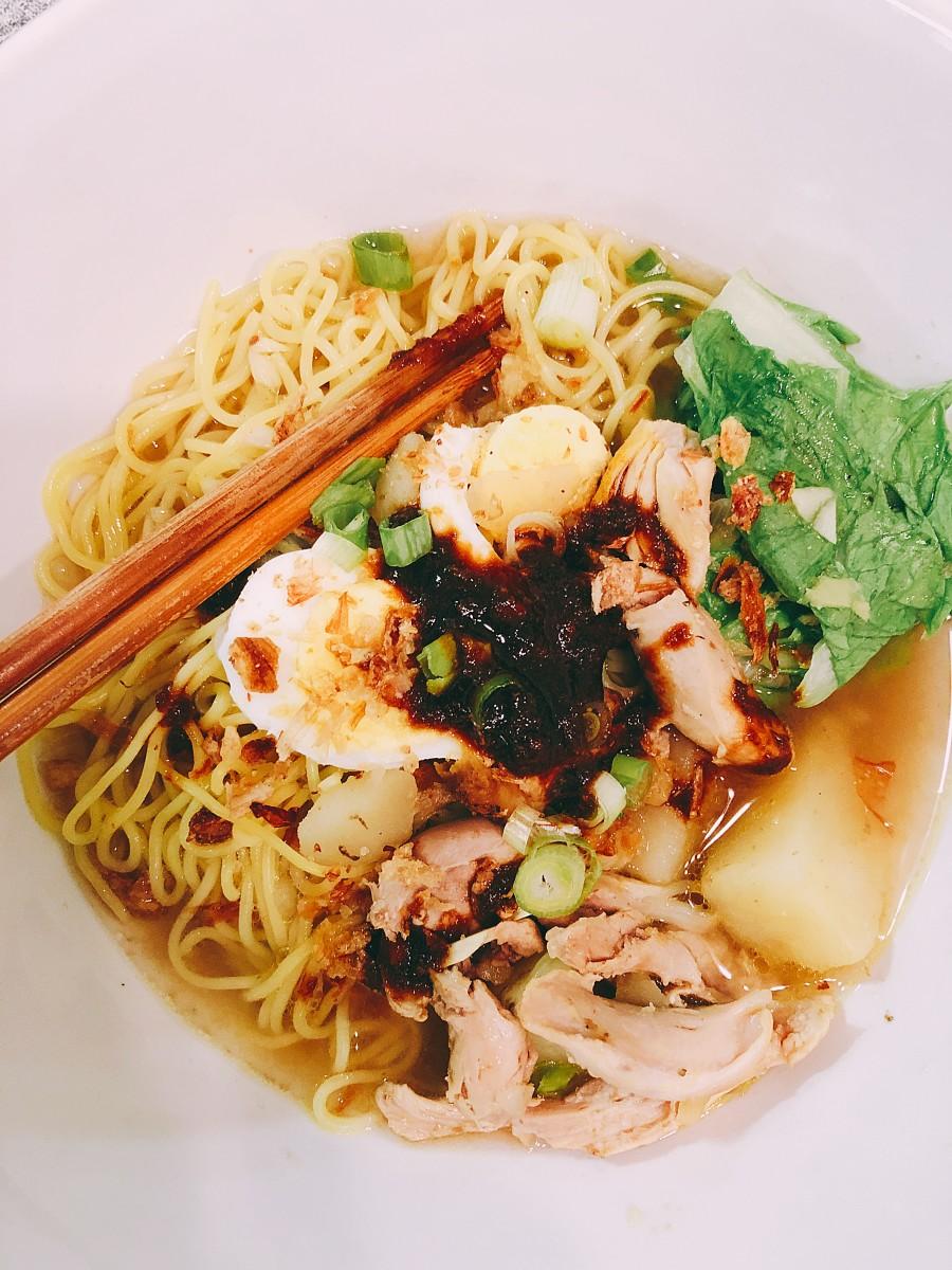 Mi sup is one of my favorite comfort foods. It is best served warm.