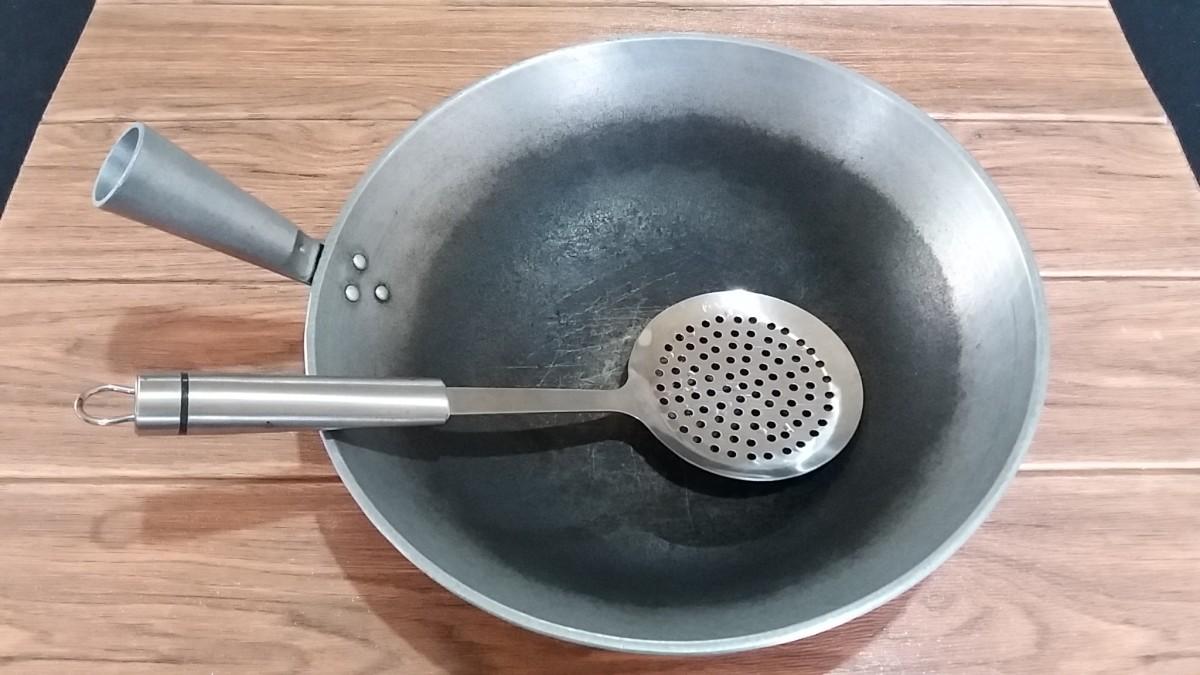 Utensils for Cooking Tahu Goreng