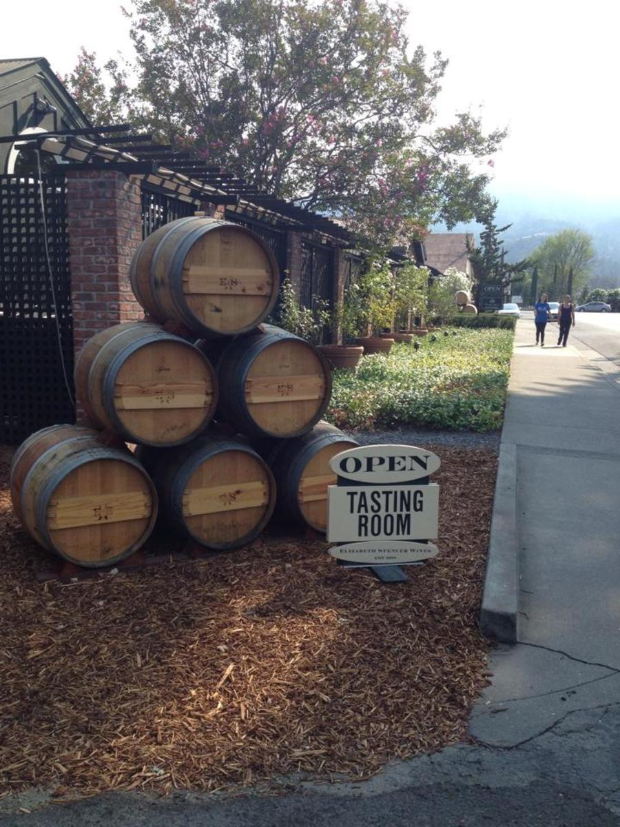 Elizabeth Spencer Winery in CA