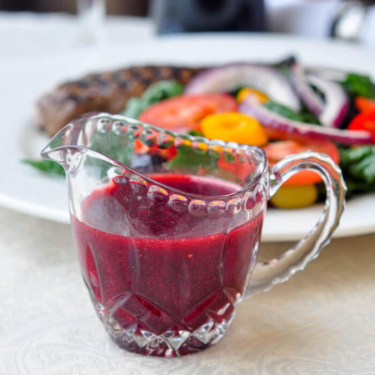Fat-Free Raspberry Balsamic Vinaigrette