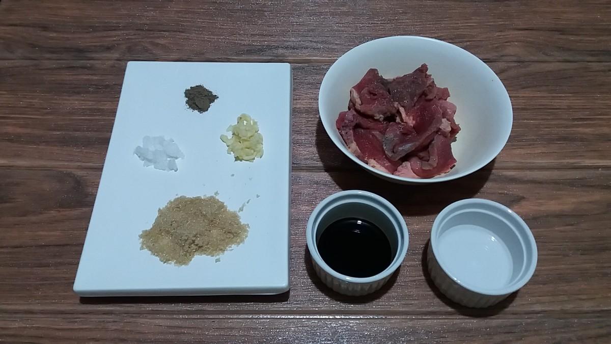 Beef tapa ingredients
