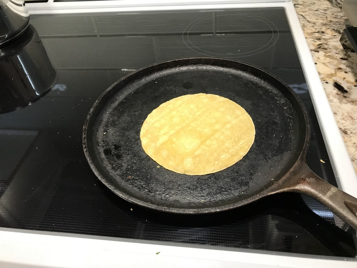 Soften tortilla