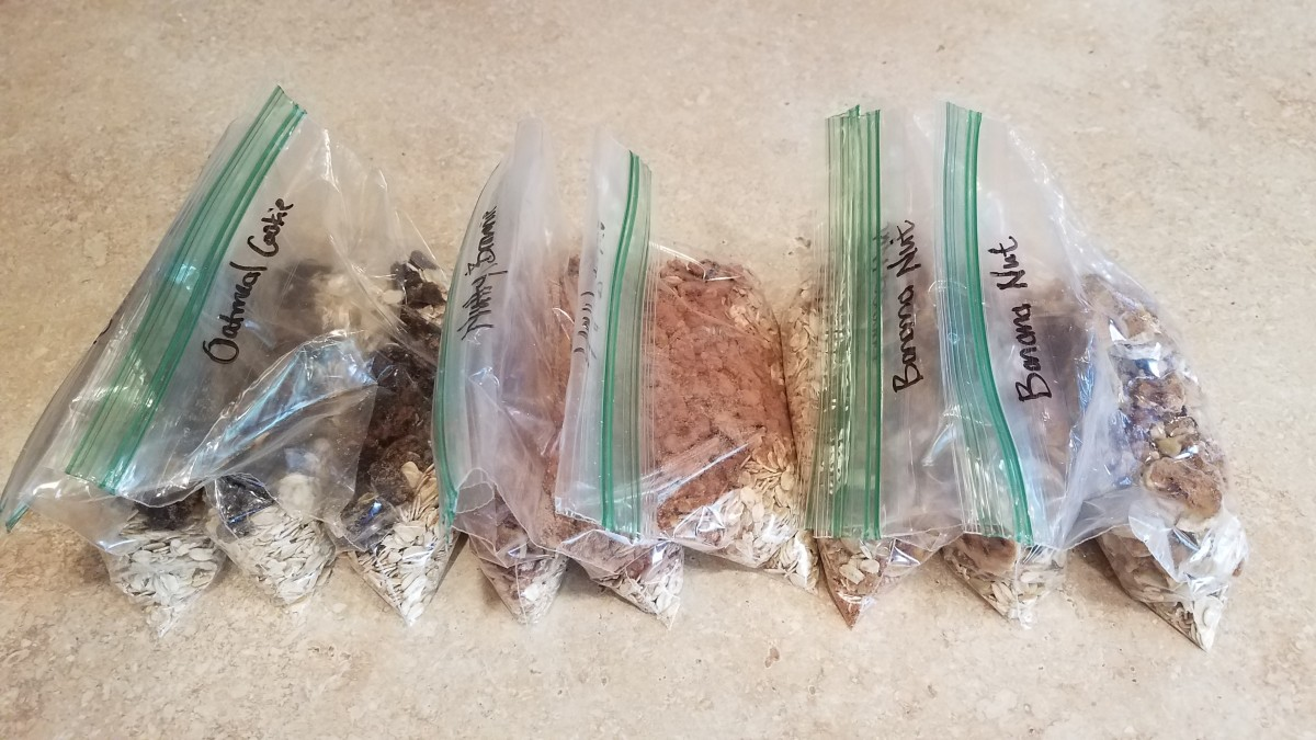 Making Your Own Healthy Instant Oatmeal Packets