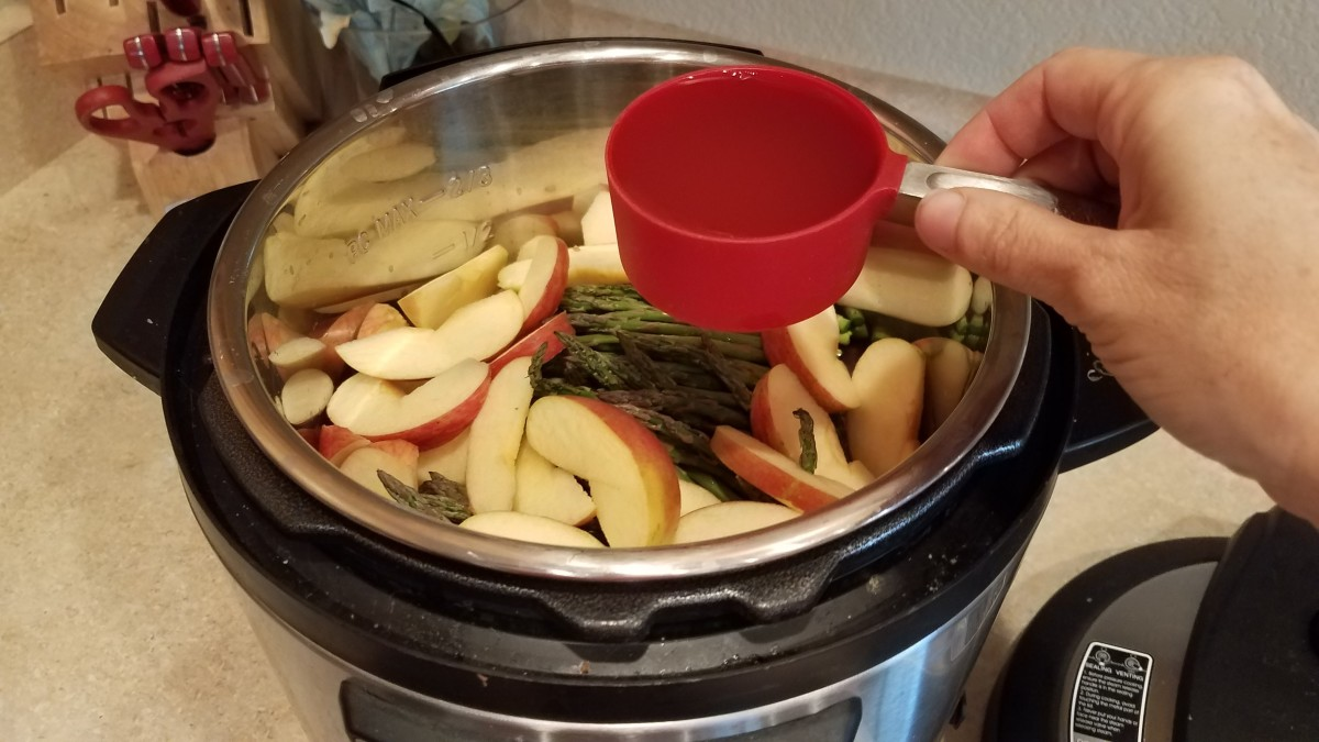 Add your apple cider vinegar.