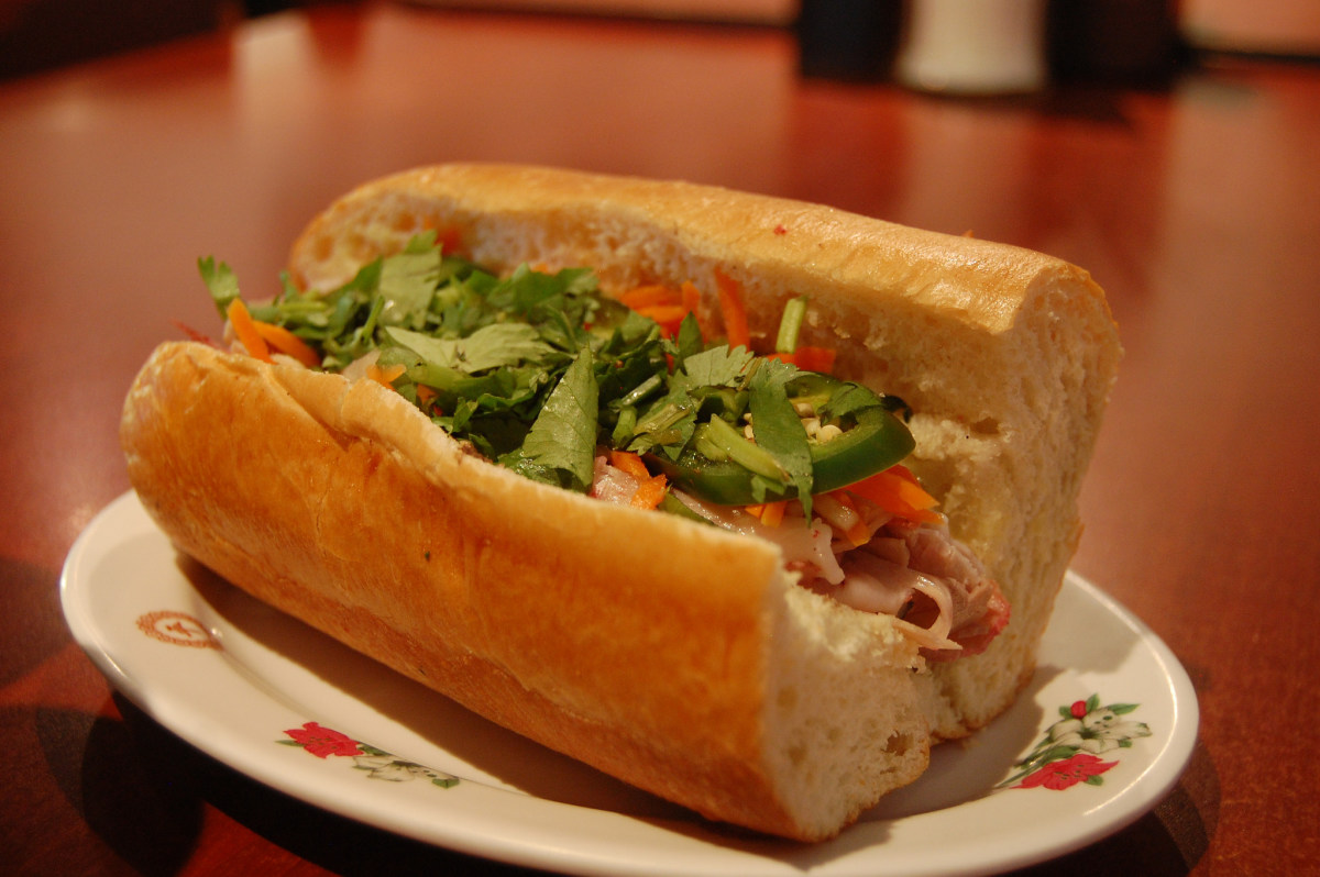 The Vietnamese baguette is called Banh Mi.