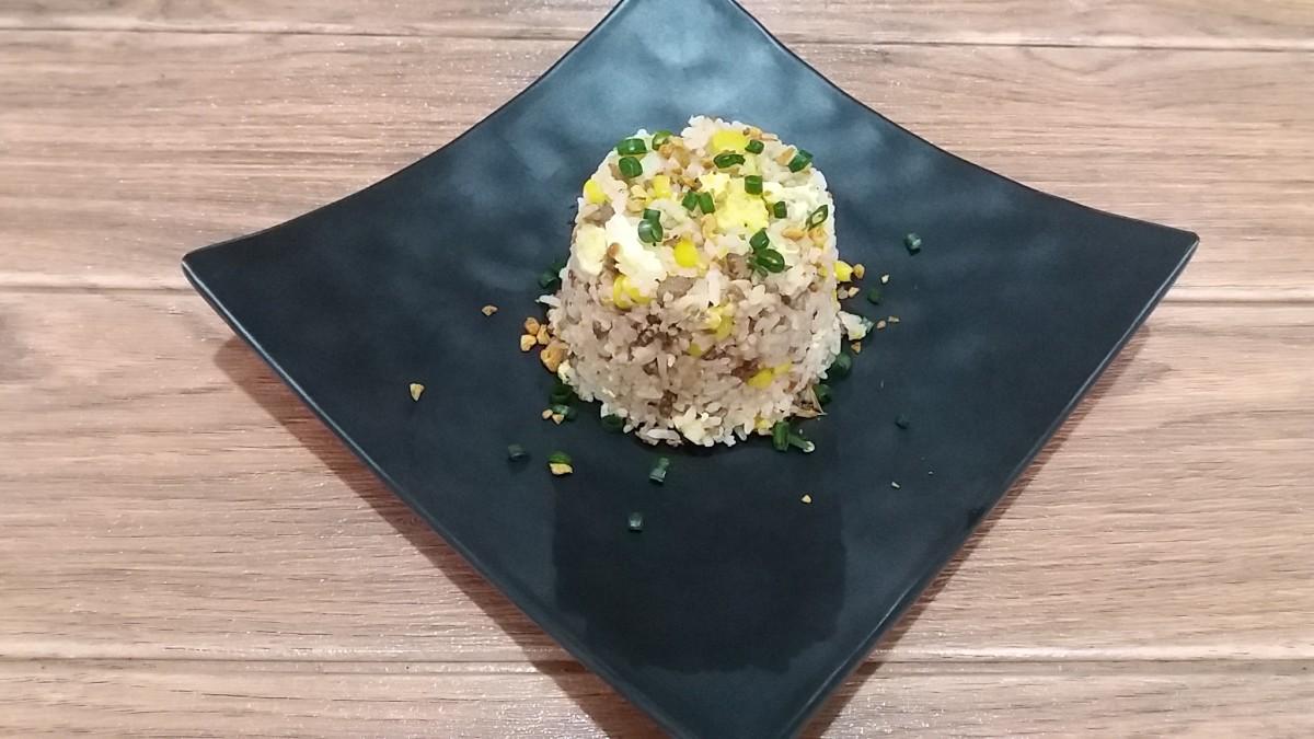 easy garlic fried rice recipe