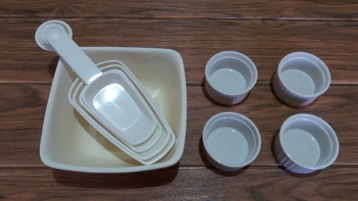 utensils for preparation