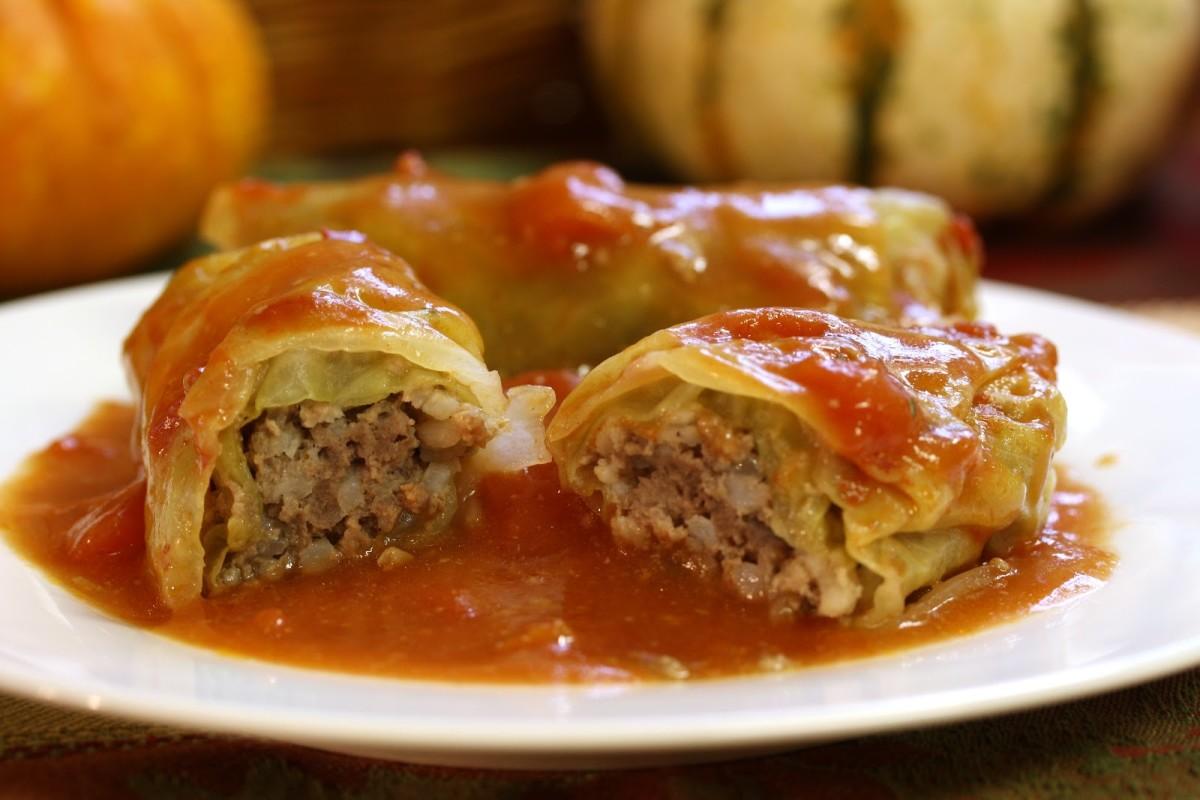 Cabbage rolls.
