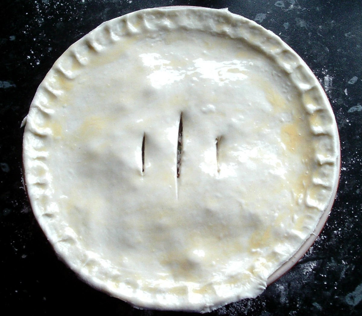 Oven-ready rabbit and squirrel pie