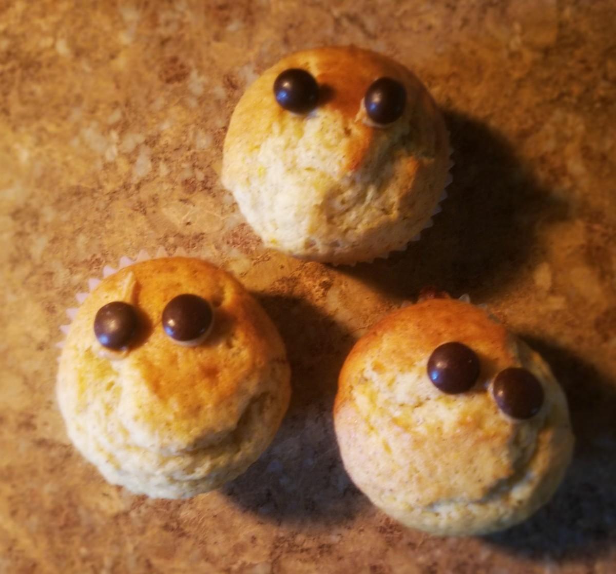 Banana Boo Muffins