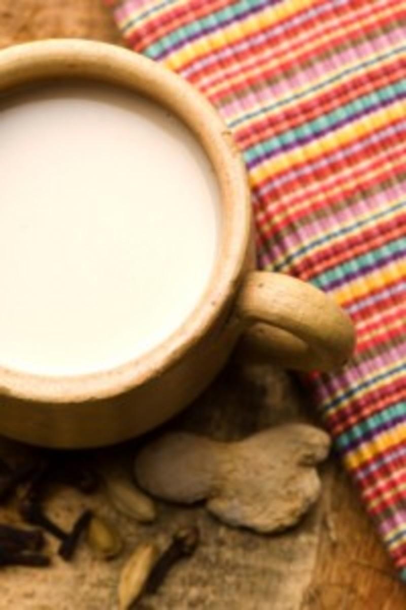Warm Spiced Coconut Almond Milk