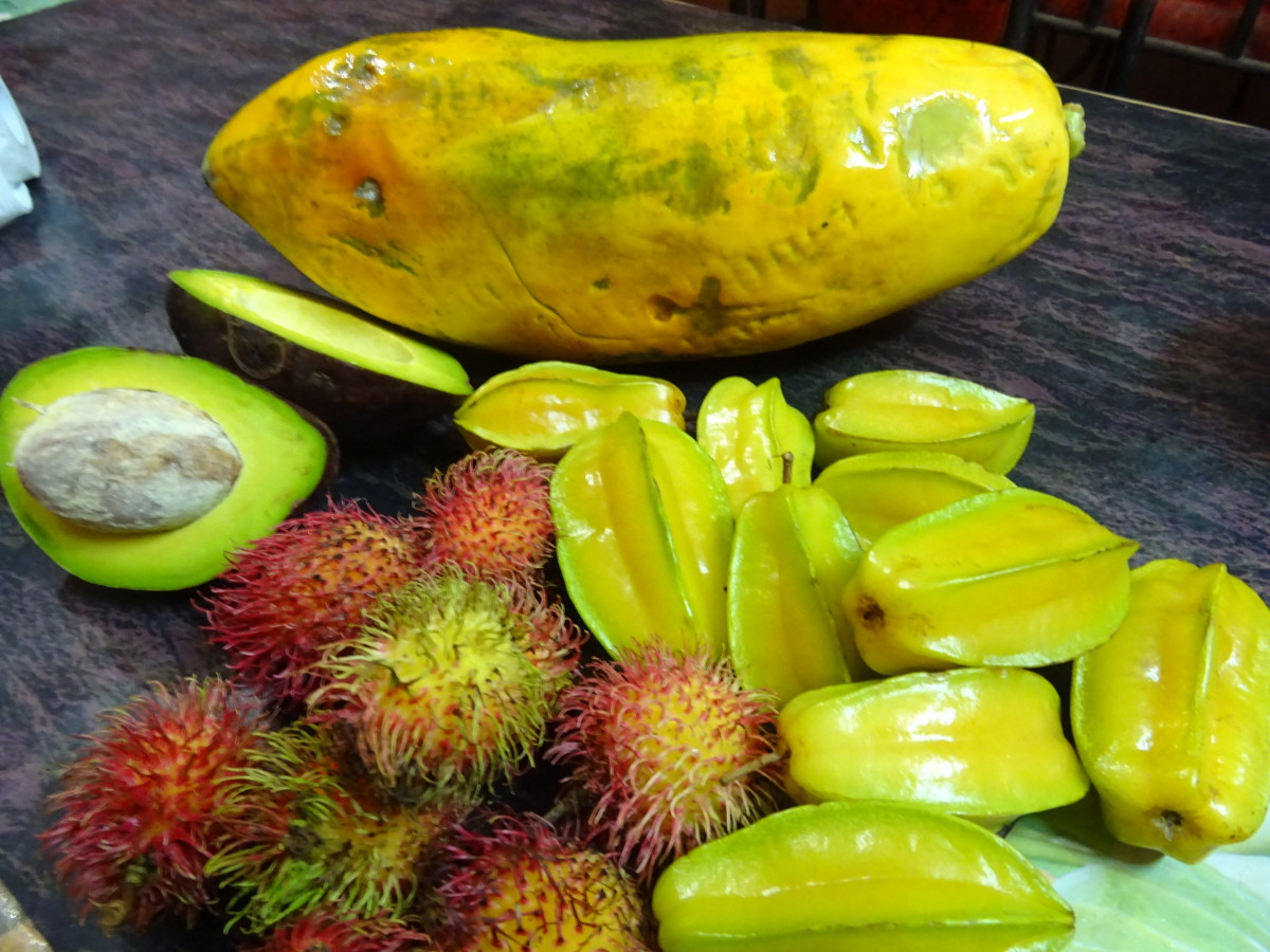 Sri Lanka is home to all of the tropical fruit you could ever want!