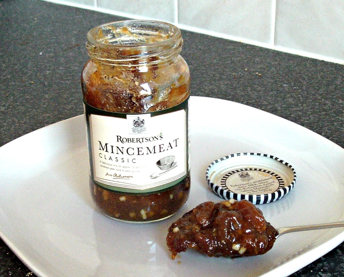 Mincemeat is a popular UK treat at Christmastime.