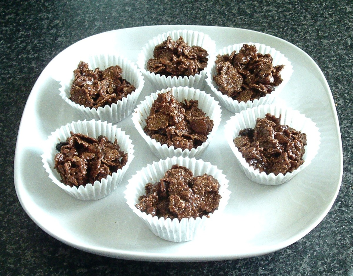 Milk Chocolate and Mincemeat Bran Crispies
