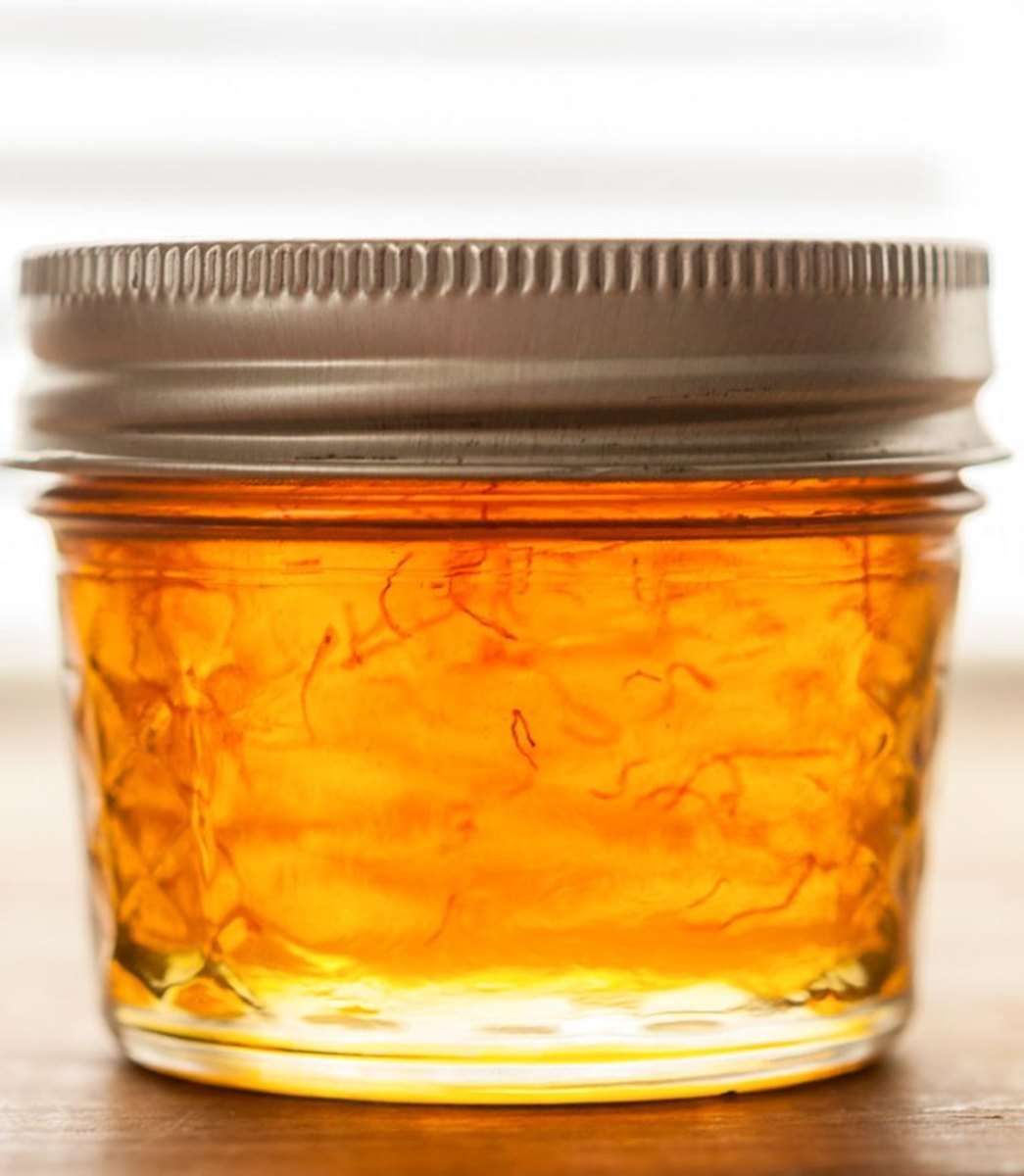 Saffron and Vanilla-Infused Honey