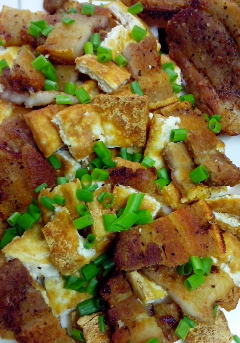 Delicious pork and tofu recipe