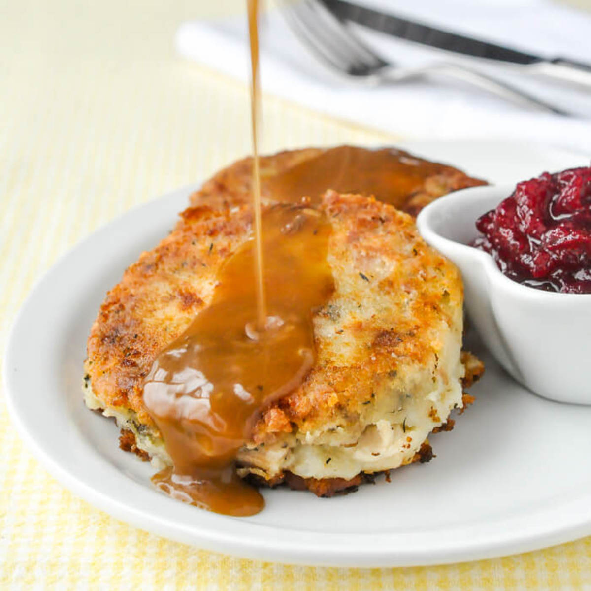 turkey and potato cakes