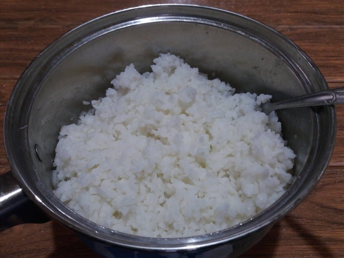 how to cook rice in a pot
