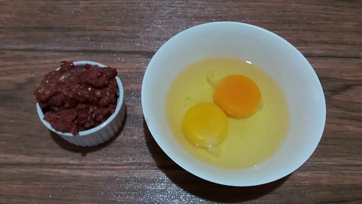 Cheap number #4 corned beef and eggs