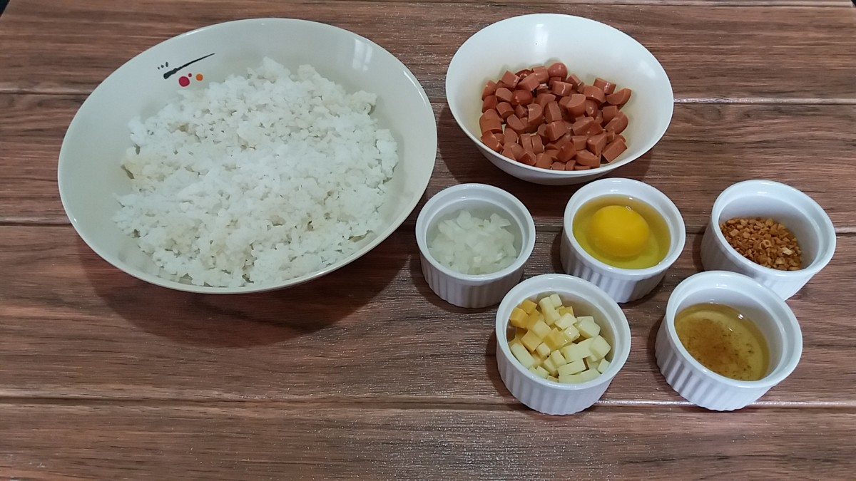 ingredients for yang chow