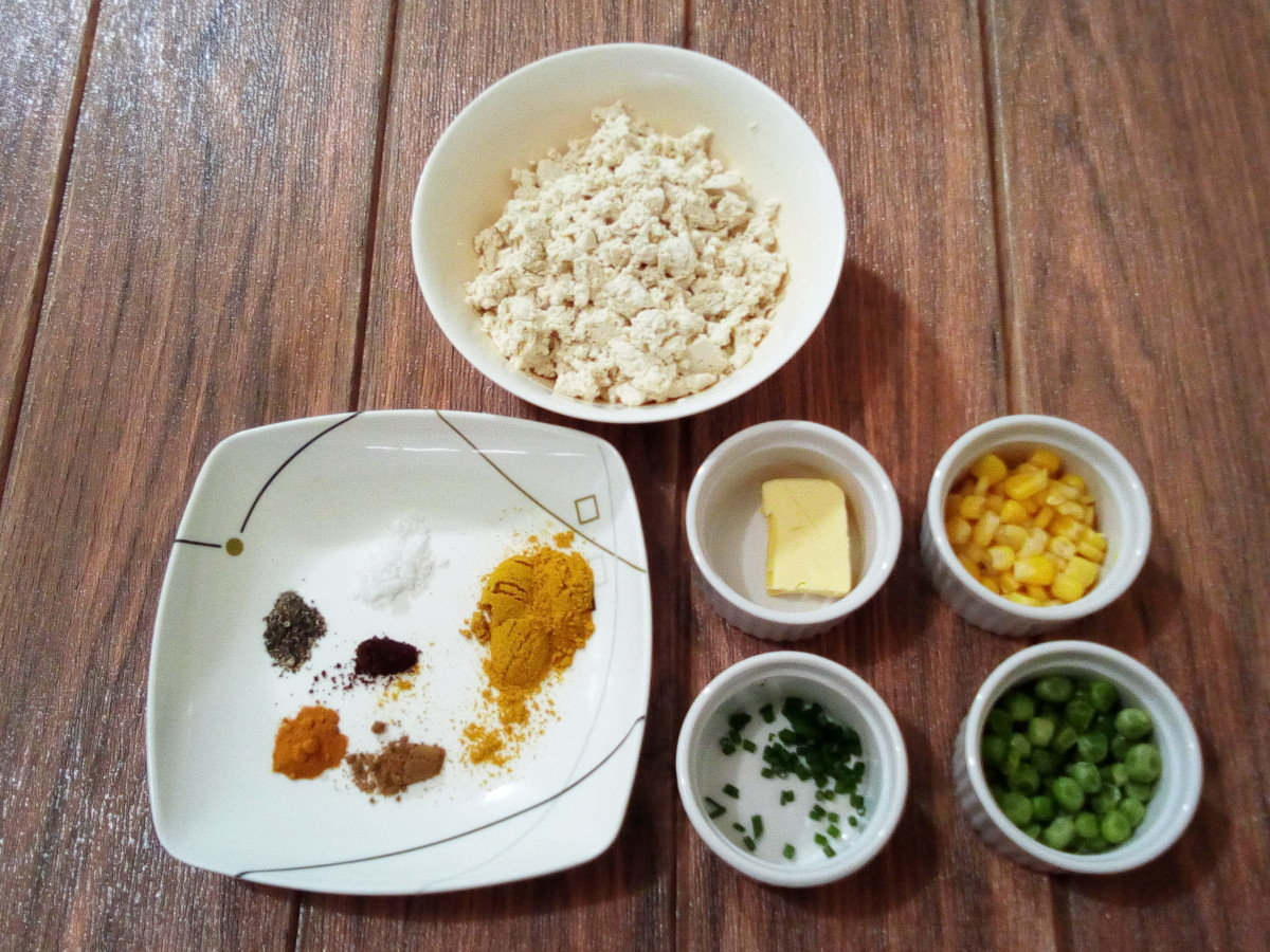 tofu bhurji ingredients