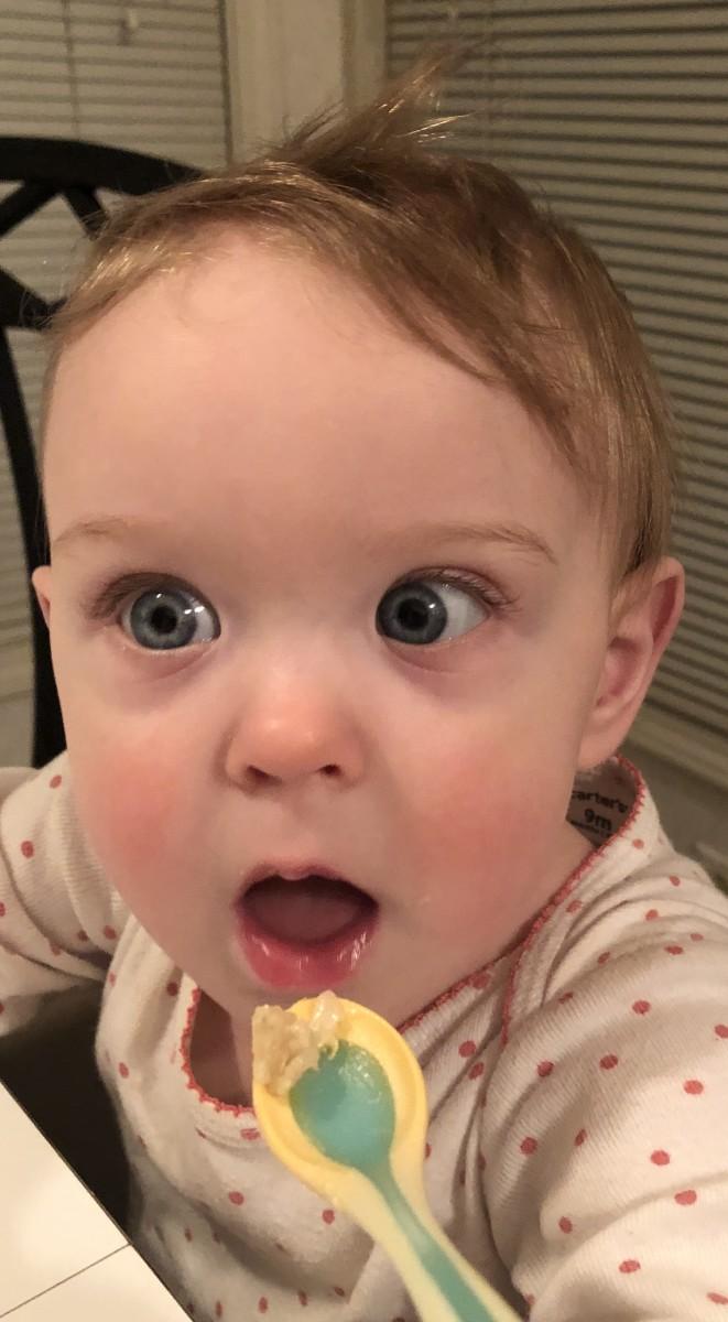 Little DeeDee, my nine-month-old, loved it!