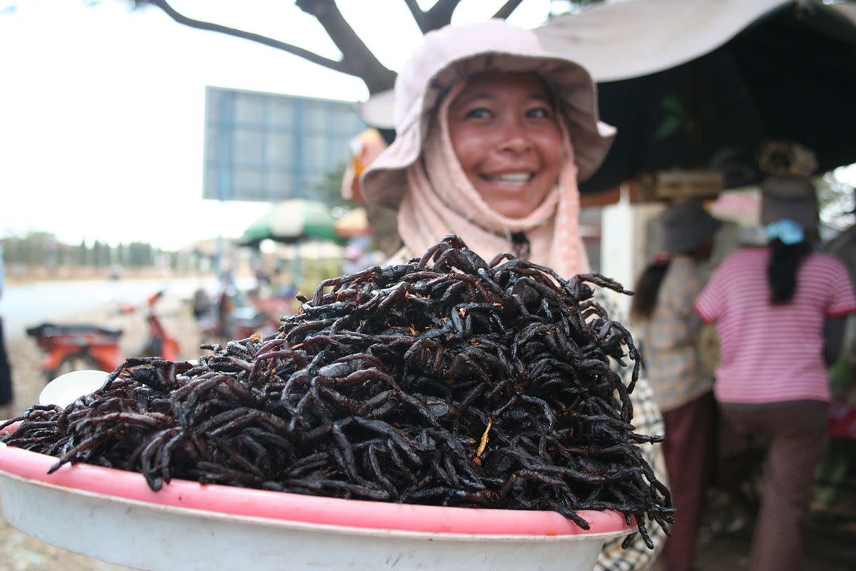 Fried spiders anyone?