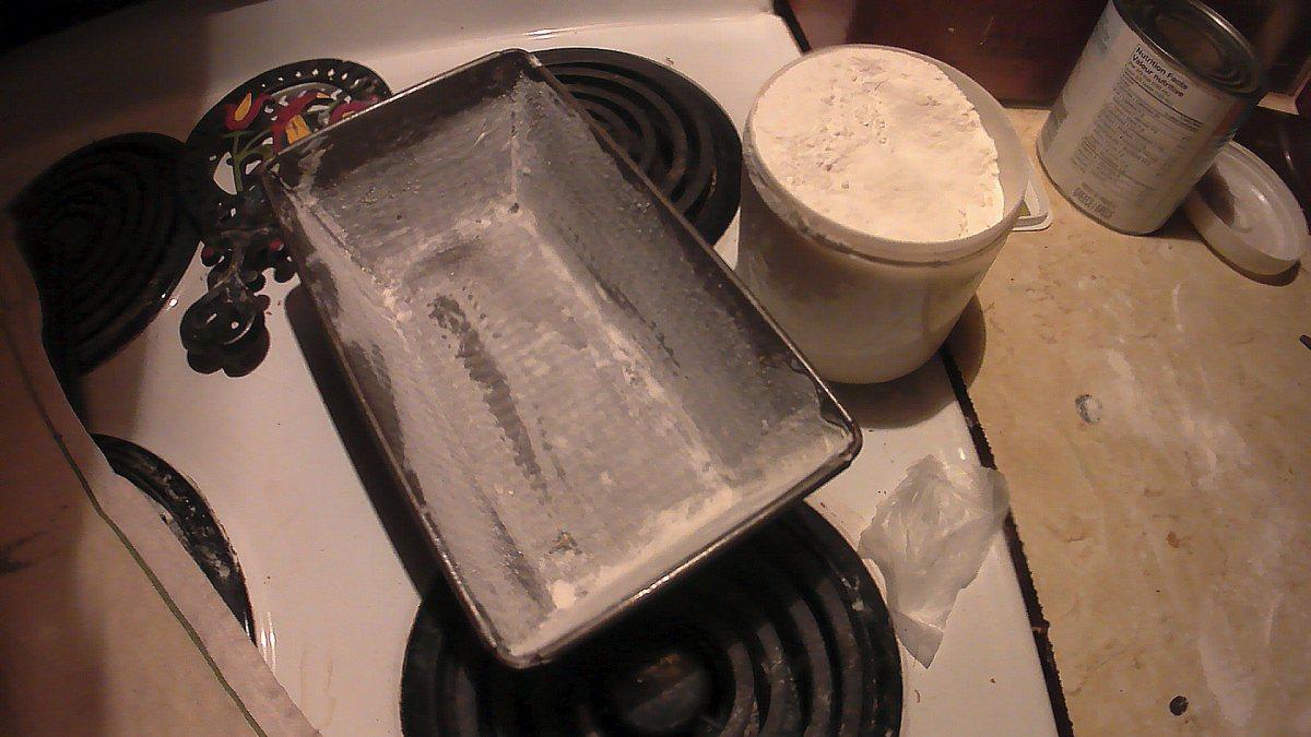 Bread pan.